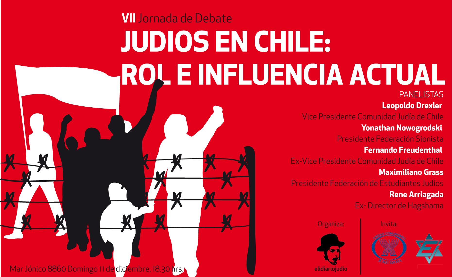 judios en chile: